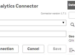Geo Analytics Connector Verbindung