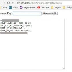 QlikView-Lizenzserver, Server Lizenz aktivieren und aktualisieren ohne direkte Internetverbindung